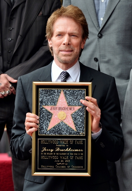 057- JERRY BRUCKHEIMER - HOLLYWOOD WALK OF FAME