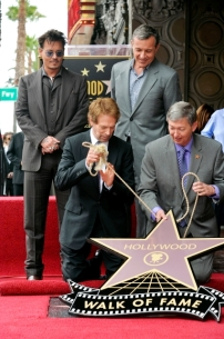 067- JERRY BRUCKHEIMER - JOHNNY DEPP - HOLLYWOOD WALK OF FAME