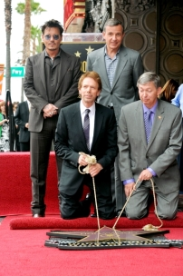 068 - JERRY BRUCKHEIMER - JOHNNY DEPP - HOLLYWOOD WALK OF FAME