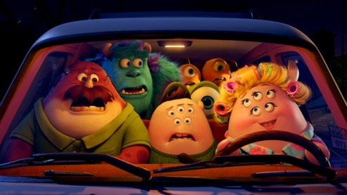 143 - MONSTERS UNIVERSITY