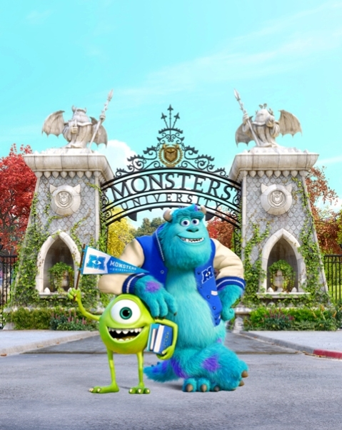 417 - MONSTERS UNIVERSITY