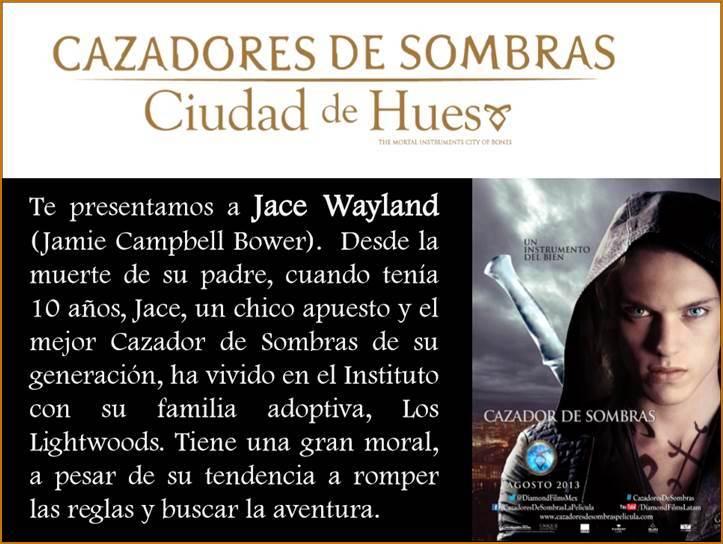 CAZADORES DE HUESOS - JAMIE CAMPBELL BOWER