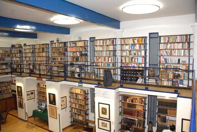 Centro de trabajo de la Coordinación Nacional de Literatura del INBA