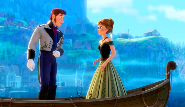 """""""FROZEN"""" (L-R) HANS and ANNA. ©2013 Disney. All Rights Reserved."""