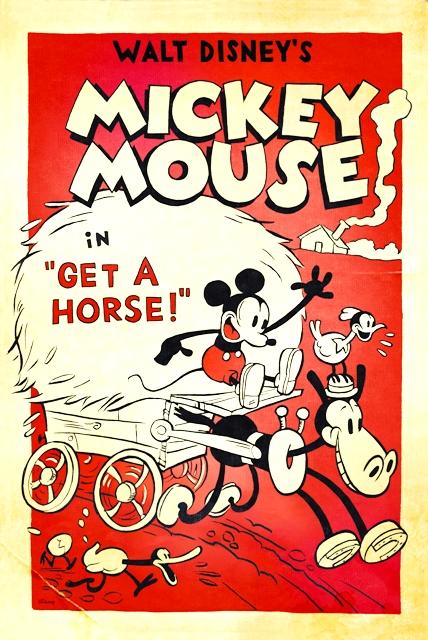 Copia de GET A HORSE - MICKEY MOUSE - WALT DISNEY