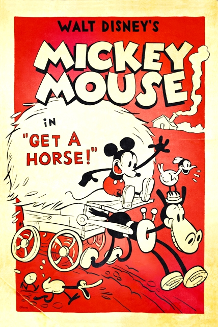 Copia de GET A HORSE - MICKEY MOUSE - WALT DISNEY