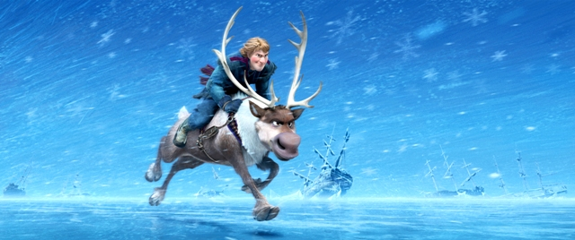 """""""FROZEN"""" (Top to Bottom) KRISTOFF and SVEN ©2013 Disney. All Rights Reserved."""