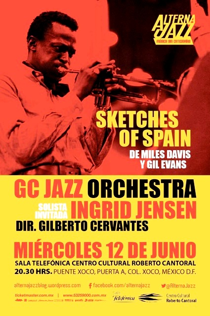 GC JAZZ ORCHESTRA - SKETCHES OF SPAIN