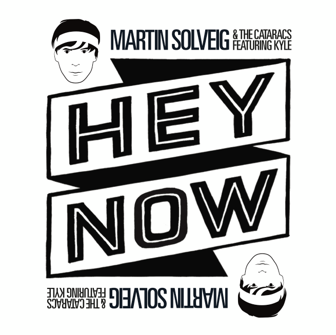 hey now - martin solveig - nuevo sencillo - warner music