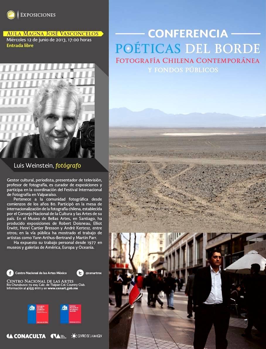 Luis Weinstein - conferencia - Mexico - Fotografia - Cenart