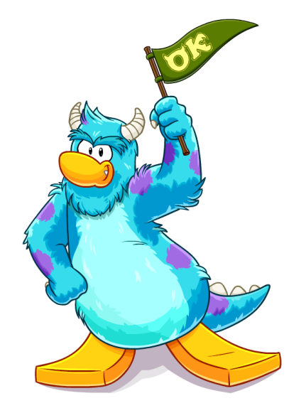 Sulley - MONSTERS UNIVERSITY - CLUB PENGUIN