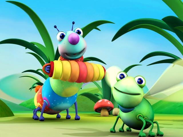 Big Bugs Band en BabyTV (1)