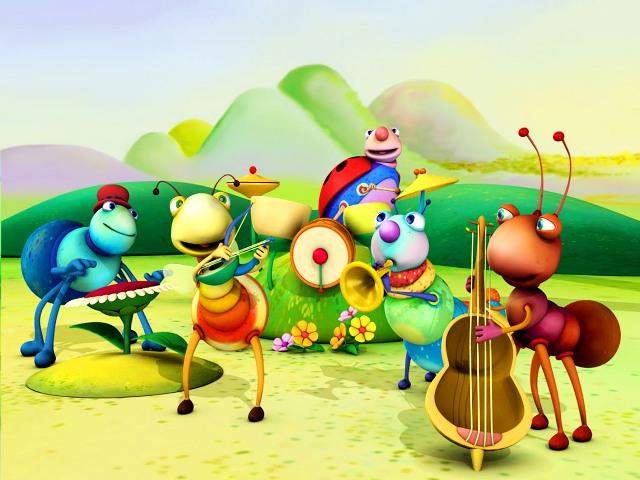 Big Bugs Band en BabyTV (2)