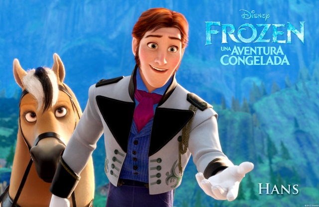 """""""FROZEN"""" (Pictured) HANS. ©2013 Disney. All Rights Reserved."""