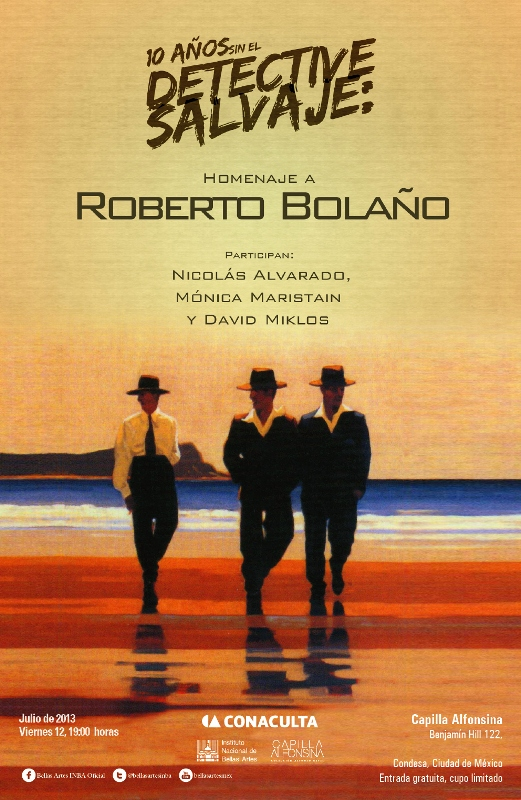 Inv. Homenaje a Roberto Bolaño