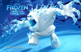 """""""FROZEN"""" (Pictured) MARSHMALLOW. ©2013 Disney. All Rights Reserved."""
