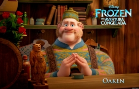 """""""FROZEN"""" (Pictured) OAKEN. ©2013 Disney. All Rights Reserved."""