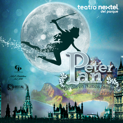 PETER PAN - TEATRO NEXTEL - JULIO 2013