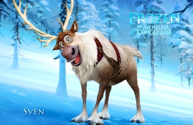 """""""FROZEN"""" (Pictured) SVEN. ©2013 Disney. All Rights Reserved."""