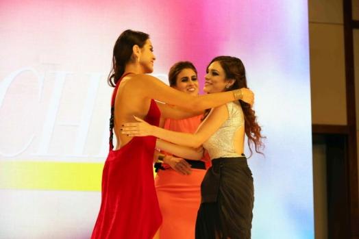 11. Alejandra Aguayo, Sofía Rivera Torres y Tania Rendón