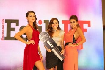 18. Alejandra Aguayo, Tania Rendón y Sofía Rivera Torres