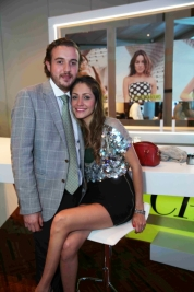 26. Daniel Hinojosa y Paola Ureña