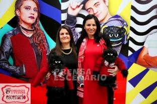 Alexandra Haas (Conapred ) y Jimena Saldaña ( Canal Once)