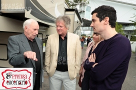 Al Worden, Rick Armstrong, Damien Chazelle, Director/Producer