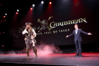 """XXX of FILM TITLE took part today in """"Worlds, Galaxies, and Universes: Live Action at The Walt Disney Studios"""" presentation at Disney's D23 EXPO 2015 in Anaheim, Calif."""