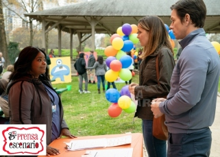 Octavia Spencer, Rose Byrne and Mark Wahlberg in Instant Family from Paramount Pictures.