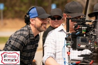 Director Sean Anders on the set of Instant Family from Paramount Pictures.