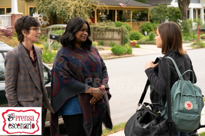 Octavia Spencer,Tig Notaro and Isabela Moner in Instant Family from Paramount Pictures.
