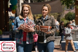 Julie Hagerty and Rose Byrne in Instant Family from Paramount Pictures.
