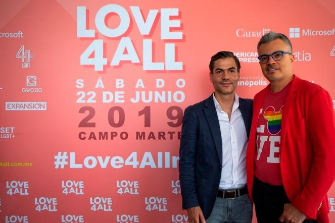 Ernesto Nuñez Fundador Love4All y Paco Robledo Socio Fundador Adil