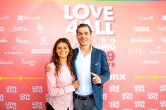Sheyla Ferrer - Actriz, Ernesto Nuñez Fundador Love4All