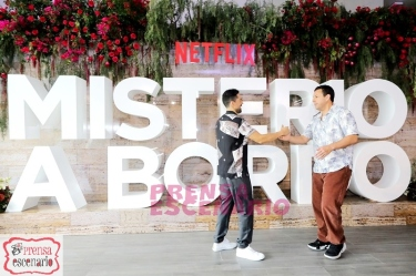 Netflix, Murder Mystery Mexico Press Conference, June 2019