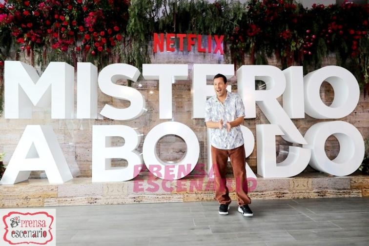 Adam Sandler during Netflix, Murder Mystery Mexico Press Conference, June 2019