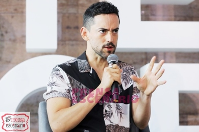 Luis Gerardo Mendez during Netflix, Murder Mystery Mexico Press Conference, June 2019