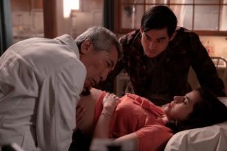 Derek Mio as Chester Nakayama, Cristina Rodlo as Luz Ojeda- The Terror _ Season 2, Episode 3 - Photo Credit: Ed Araquel/AMC