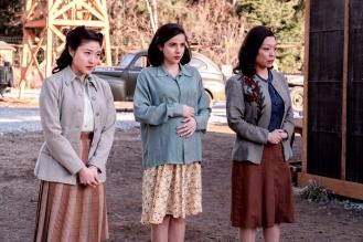 Miki Ishikawa as Amy Yoshida, Cristina Rodlo as Luz Ojeda, Naoko Mori as Asako Nakayama- The Terror _ Season 2, Episode 3 - Photo Credit: Ed Araquel/AMC