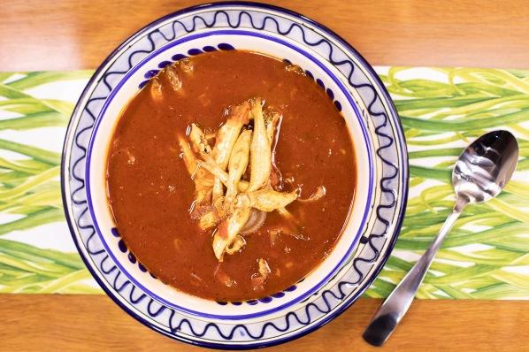 El Gourmet - Platos de cuchara 2 _Caldo de charales frescos y xoconostle