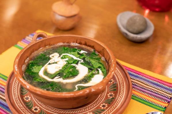El Gourmet - Platos de cuchara 2 _Caldo de espinacas