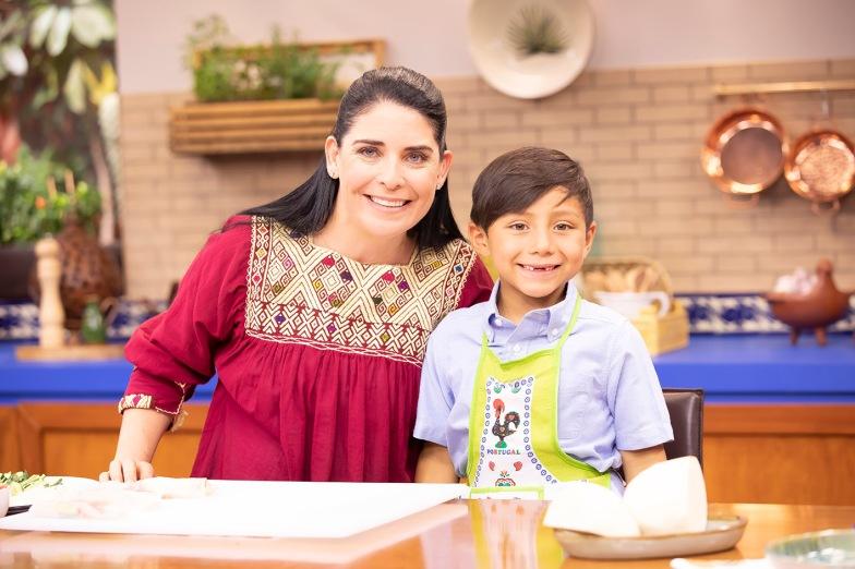 El Gourmet - Platos de cuchara 2 - Zahie con su hijo Mariano