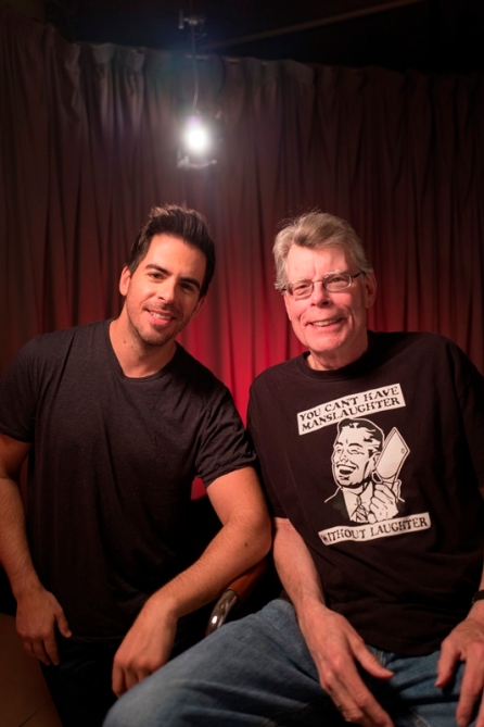Eli Roth, Stephen King- Eli Roth's History of Horror _ Season 1 - Photo Credit: Bret Curry/AMC
