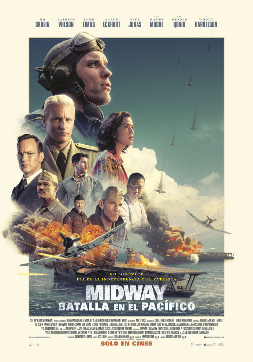 """Póster oficial """"Midway"""""""