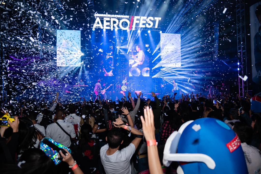 Así fue el concierto Aerofest con Morat, Saak y ChuchoRivas