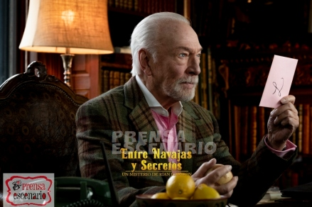 Christopher Plummer stars as 'Harlan Thrombey' in KNIVES OUT.