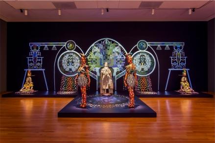 Saya Woolfalk Installation @ Seattle Art Museum in the Disguise Exhibit, 2015 - Photo by Nathaniel Willson