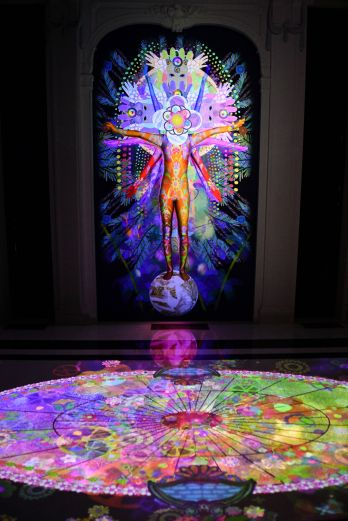 Visionary Reality Portal by Saya Woolfalk (1)