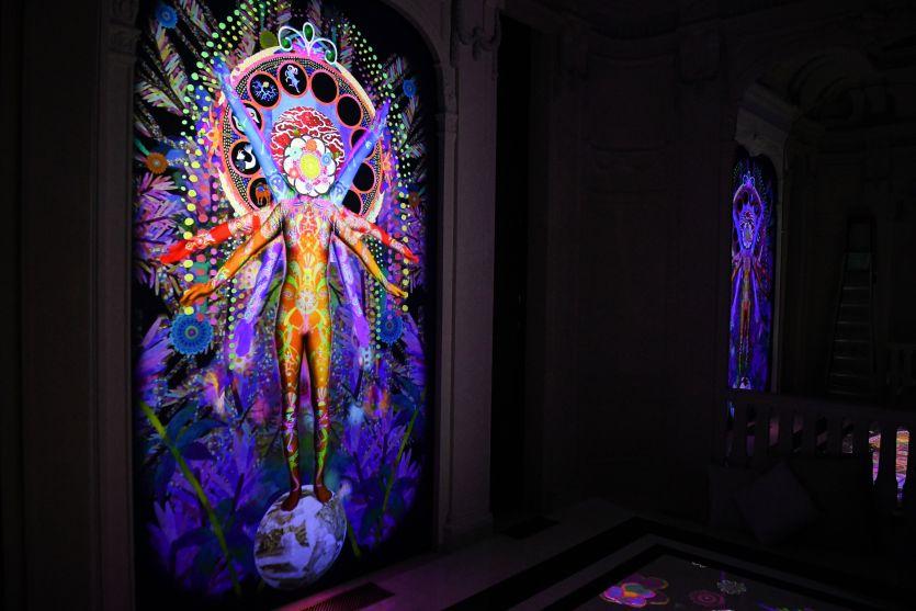 Visionary Reality Portal by Saya Woolfalk